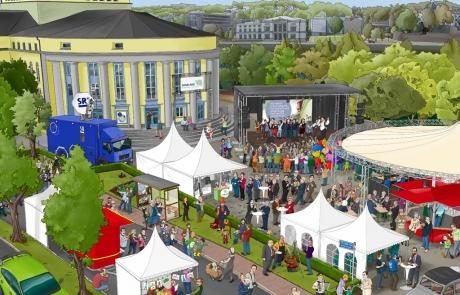 Buergerfest-Saarland-Wimmelbild