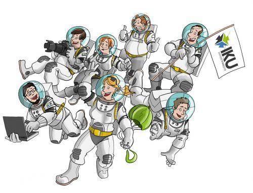 IKU Systems: Mitarbeitercartoons