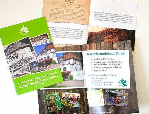 Jubiläumsbroschüre Naturfreundehaus Kirkel