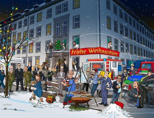 Weihnachtskarte Innenministerium Saarland
