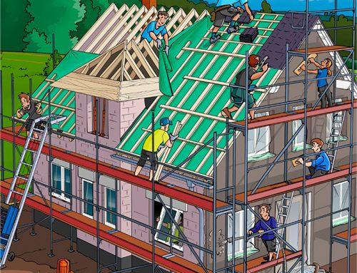 Wir bauen ein Haus | Kinderheft